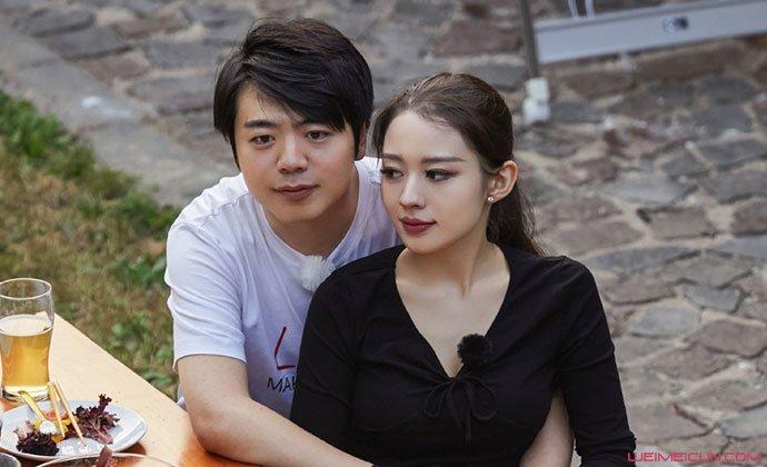 郎郎和妻子吉娜