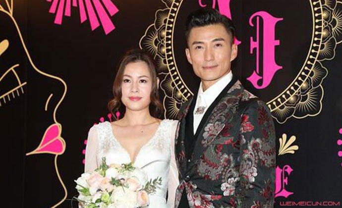 陈山聪与女友结婚