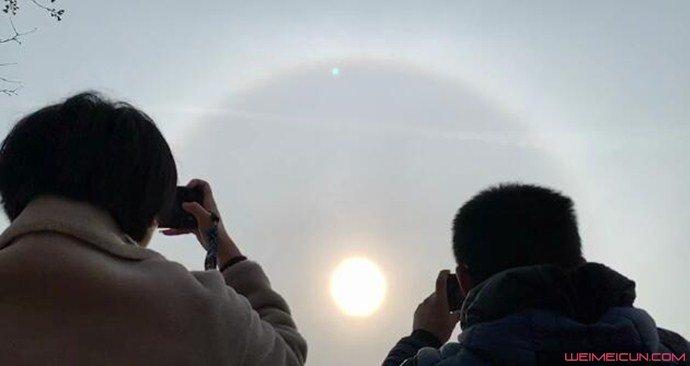 日晕景观是怎么形成的