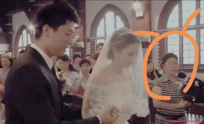 凌潇肃婚礼视频画面