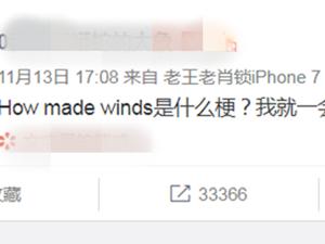 how made winds什么梗 英语老师看了翻译会
