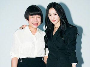 杨幂与时尚主编合影 时尚主编ac张宇是谁与