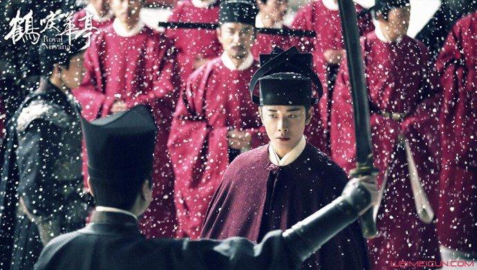 鹤唳华亭阿元是谁的儿子