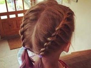 儿童扎发简单又好看图片 分享一款易上手又美的扎法