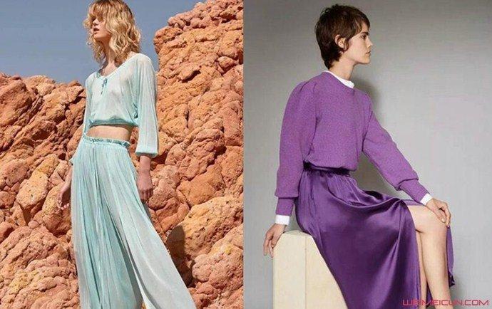 2020年女装流行颜色