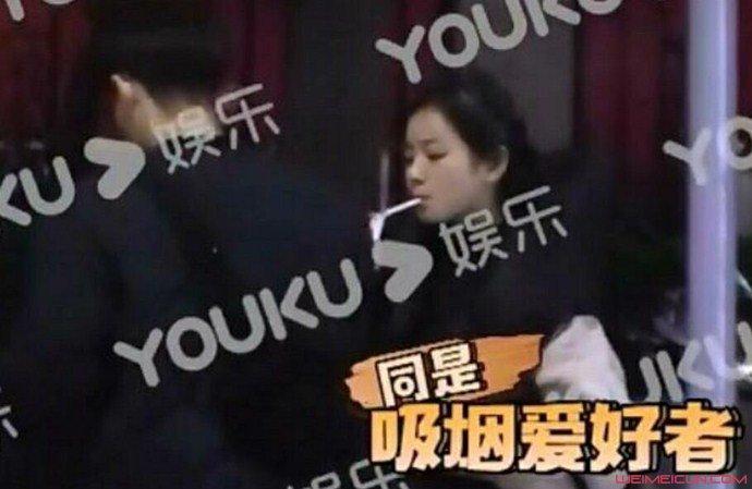 俞彬李庚希抽烟被拍