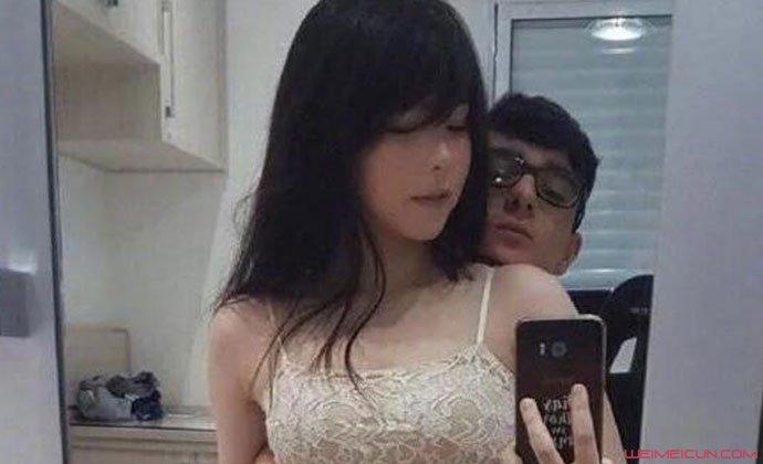 mayumi与前男友合照