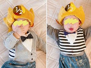 苍井空晒孩子照片 更新博客晒双胞胎儿子其
