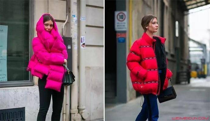 冬天穿羽绒服背什么包包好看
