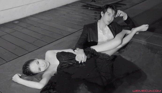 萧亚轩与男友拍MV