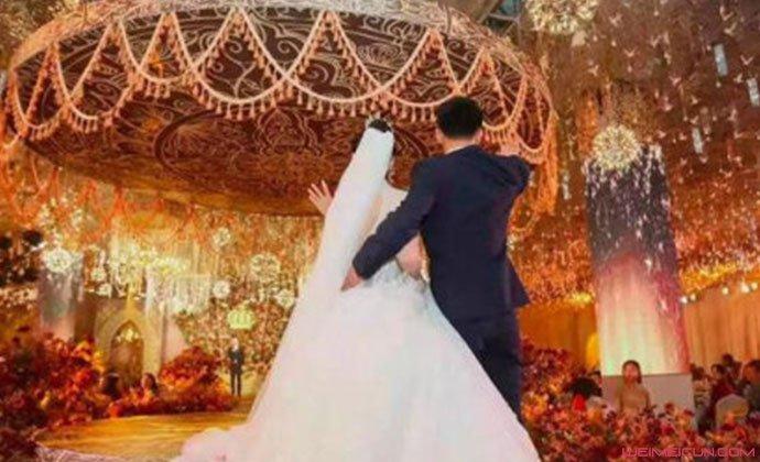 博士奶爸王言博婚礼照