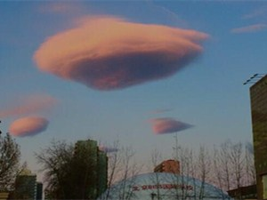 北京天空现云UFO 揭露云UFO形成过程是这样的