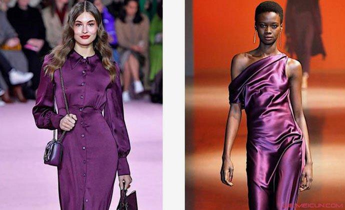 黑加仑紫颜色衣服