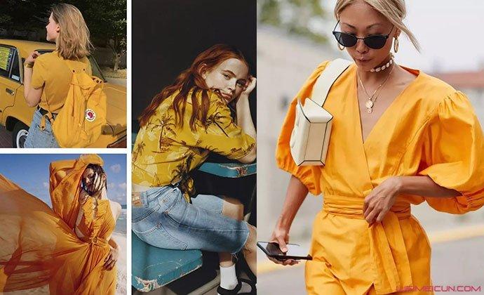 古金黄颜色衣服