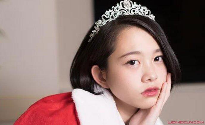 日本最可爱女高中生