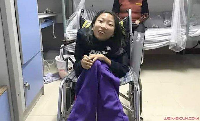 云南轮椅女孩徐瑞阳