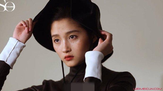 关晓彤鼠啃刘海