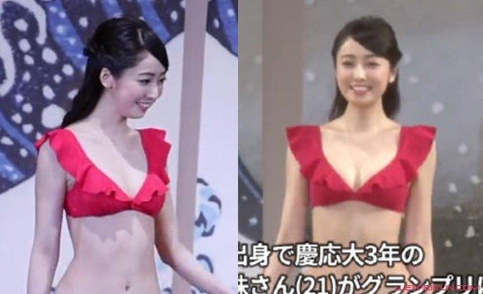 小田安珠泳装照