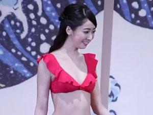 2020日本小姐冠军 小田安珠夺冠现场曝光泳装照太美了