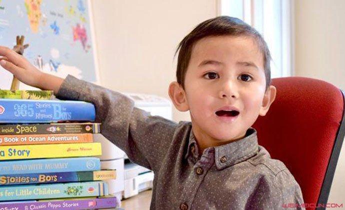 3岁男童智商高达142