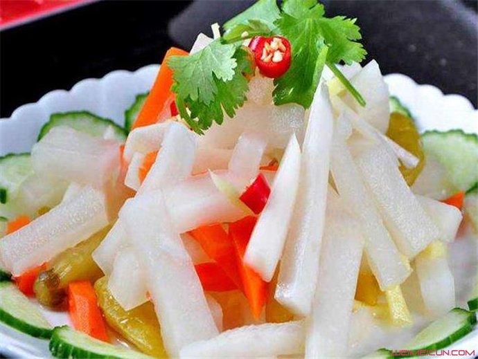 泡椒萝卜的腌制方法