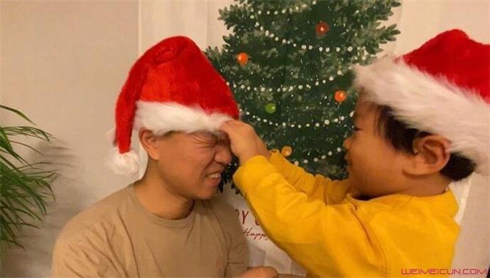 姜Gary与儿子互动