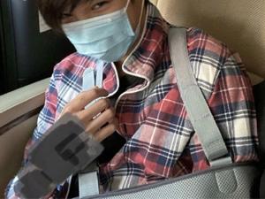 袁咏仪儿子受伤 受伤原因曝光张慕童为什么