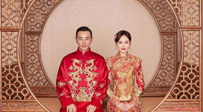 罗晋唐嫣结婚照