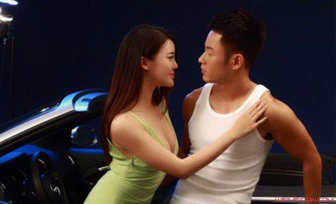 演员张璇与男友照片
