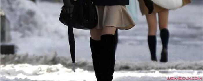 日本人为什么冬天不穿裤子