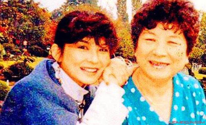 陈淑桦和母亲