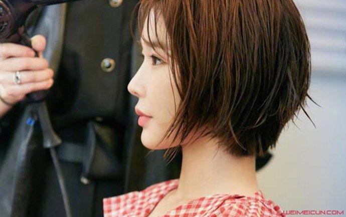 刘仁娜短发造型