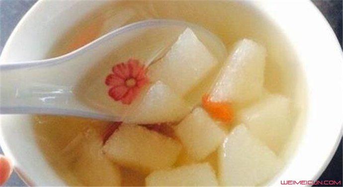 白萝卜炖雪梨可以治咳嗽吗?