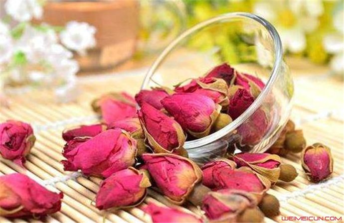 玫瑰花茶有什么效果