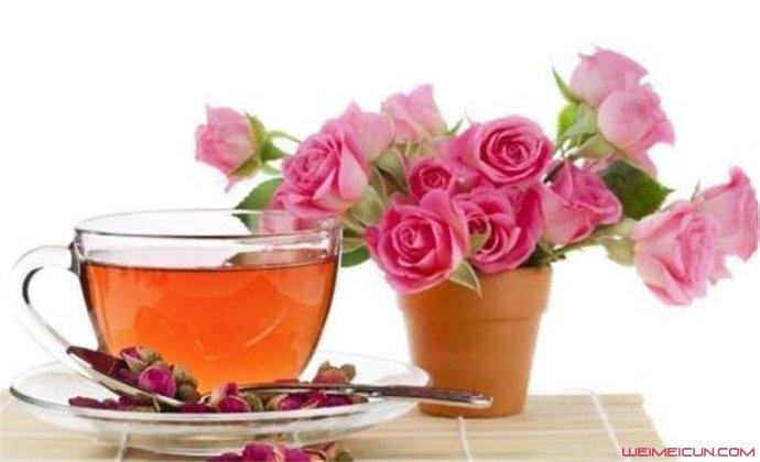 玫瑰花茶好喝吗