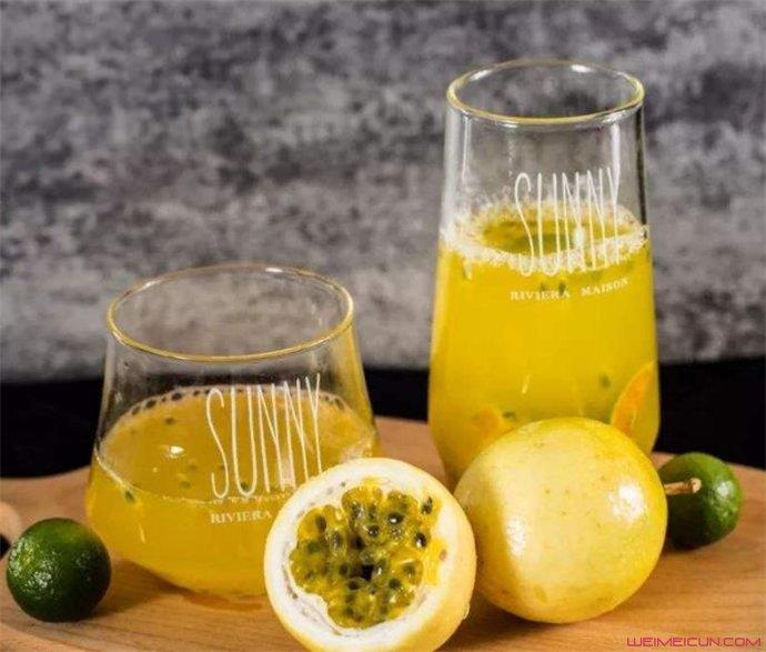 百香果蜂蜜水什么功效