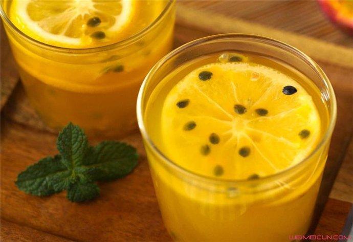 百香果蜂蜜水怎么做