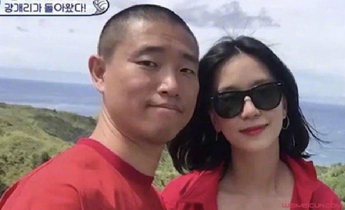姜Gary和老婆合照