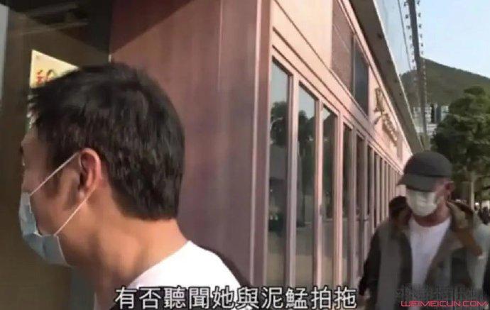 许志安拒谈黄心颖