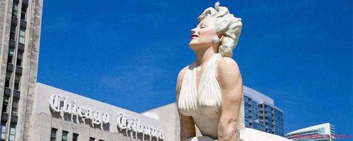 梦露雕像为什么被拆