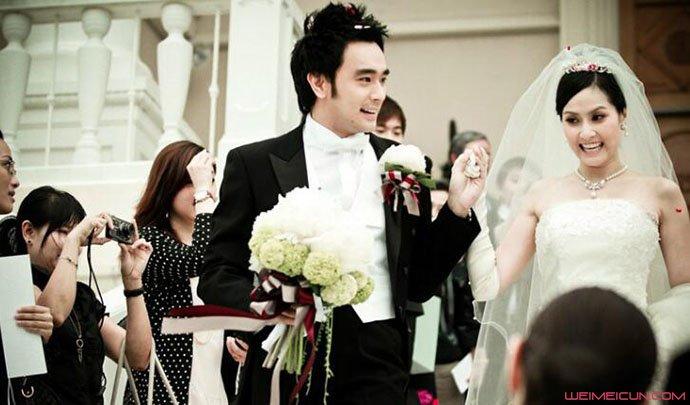 泰国演员TAE结婚了