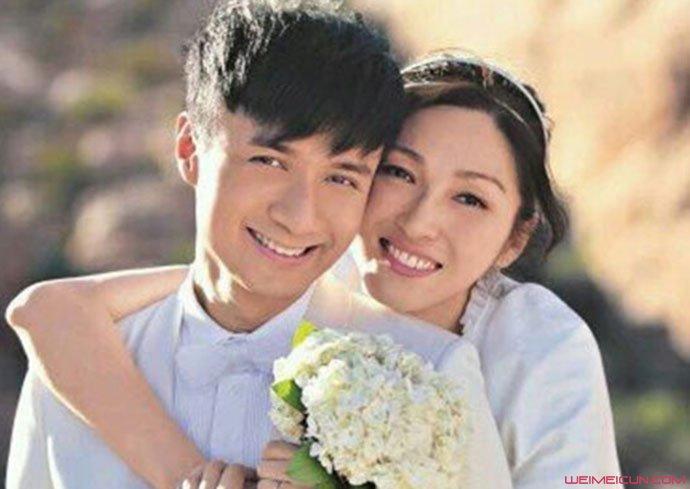 古巨基陈韵晴结婚照