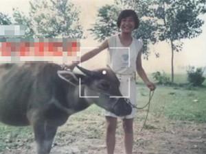 贾玲年少时放牛照 曾是苗条少女的她怎么越