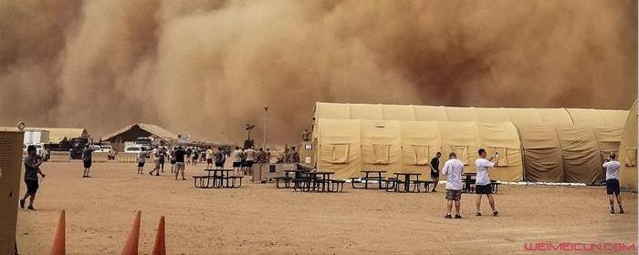为什么会出现沙尘暴