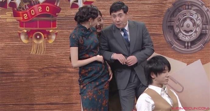 沈腾和贾玲第一次见到腰啥情况