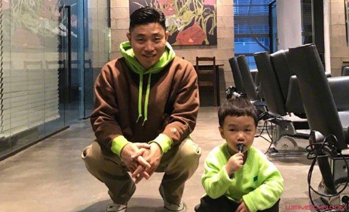 姜gary教儿子小好中文