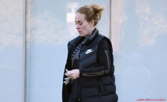 Adele瘦身中