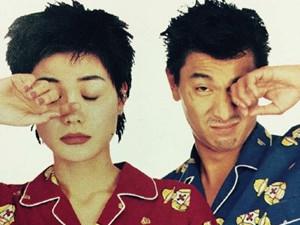 王菲刘德华睡衣合影 旧照片里的二人好有cp