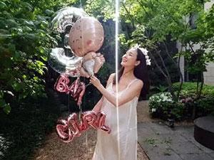 44岁崔智友孕肚照 预产期不到半个月小细节透露宝宝性别