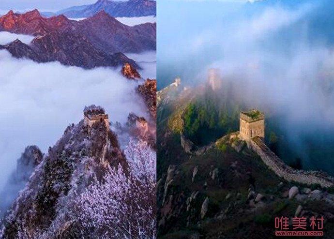 东北会计5年拍30万张长城照片